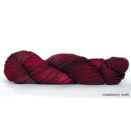 Dream in Color Smooshy with Cashmere Sock, Cranberry Melt