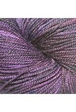Dragonfly Fibers Djinni Sock, Aubergine *CLEARANCE*