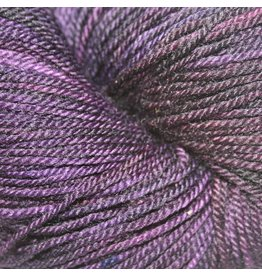 Dragonfly Fibers Djinni Sock, Aubergine (Discontinued)