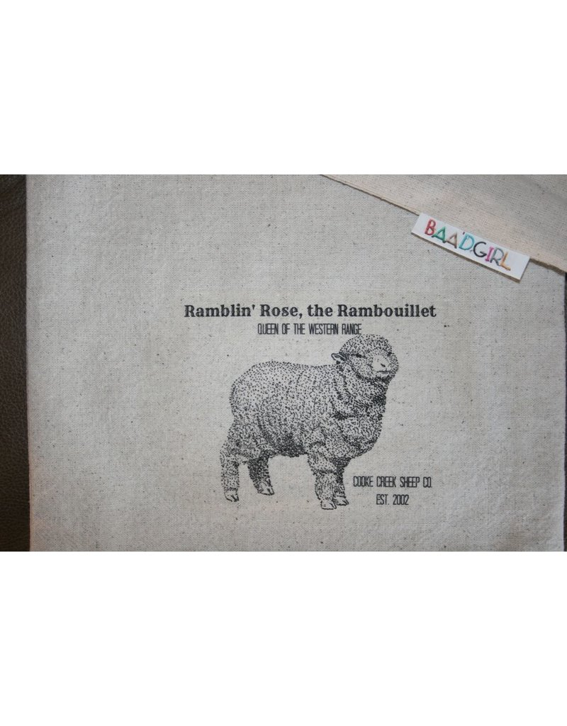 Ramblin' Rose Wool works Baa'g