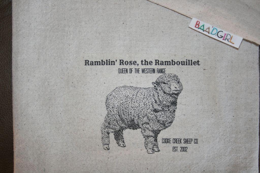 Ramblin' Rose Wool works Baa'g
