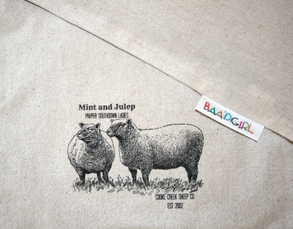 Mint/Julep Wool works Baa'g