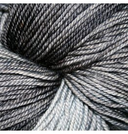Dragonfly Fibers Djinni Sock, Black Pearl