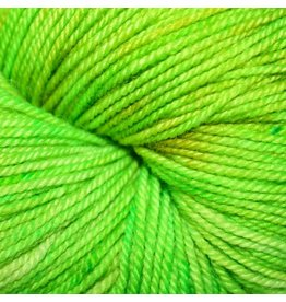 Dragonfly Fibers Djinni Sock, Golden Pear (Discontinued)
