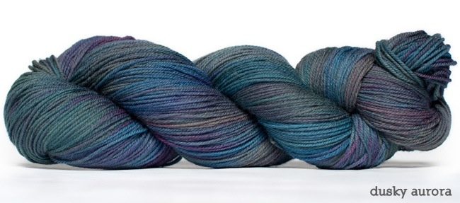 Dream in Color Smooshy with Cashmere, Dusky Aurora (Discontinued)