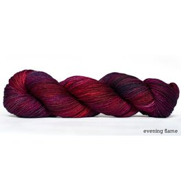Dream in Color Smooshy with Cashmere Sock, Evening Flame