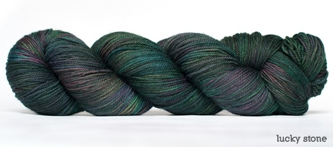 Dream in Color Smooshy with Cashmere, Lucky Stone (Discontinued)