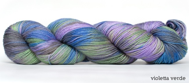 Dream in Color Smooshy with Cashmere, Violette Verde (Discontinued)