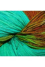 Dragonfly Fibers Djinni Sock, Coral Reef *CLEARANCE*