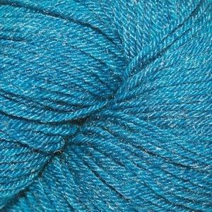 Arctic Qiviut Sock, Kenai Blue Teal