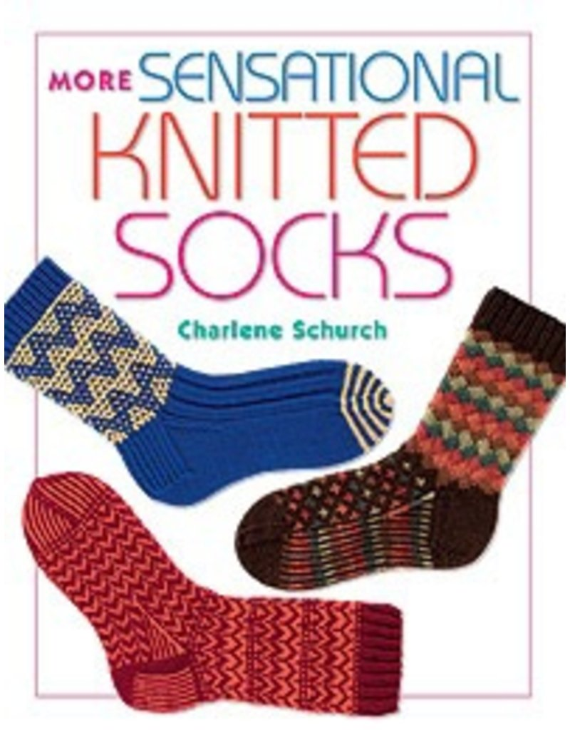 Book: More Sensational Knitted Socks