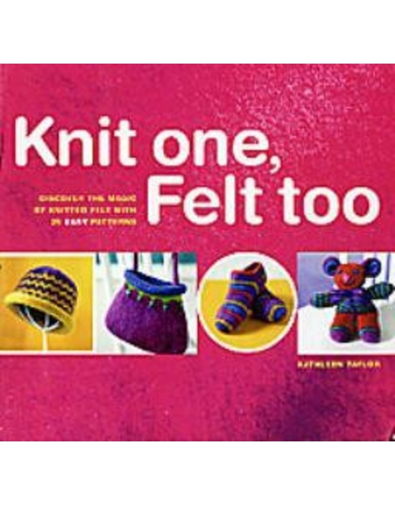 Book: Knit One, Felt Two