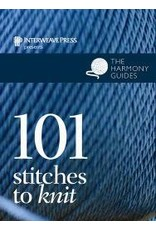 The Harmony Guides: 101 Stitches To Knit