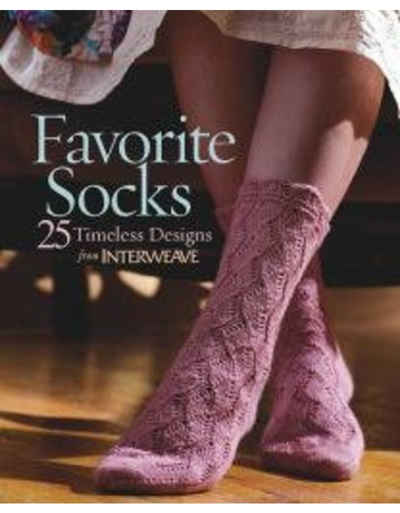 Book: Favorite Socks, 25 Timeless Designs from Interweave