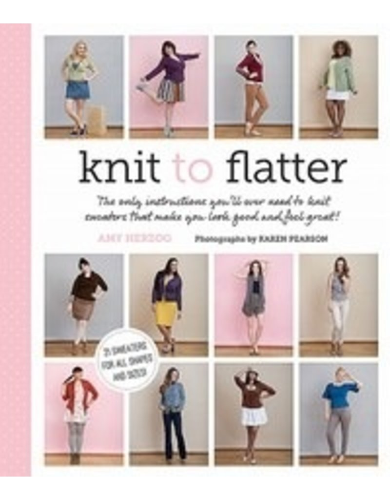 Book: Knit To Flatter