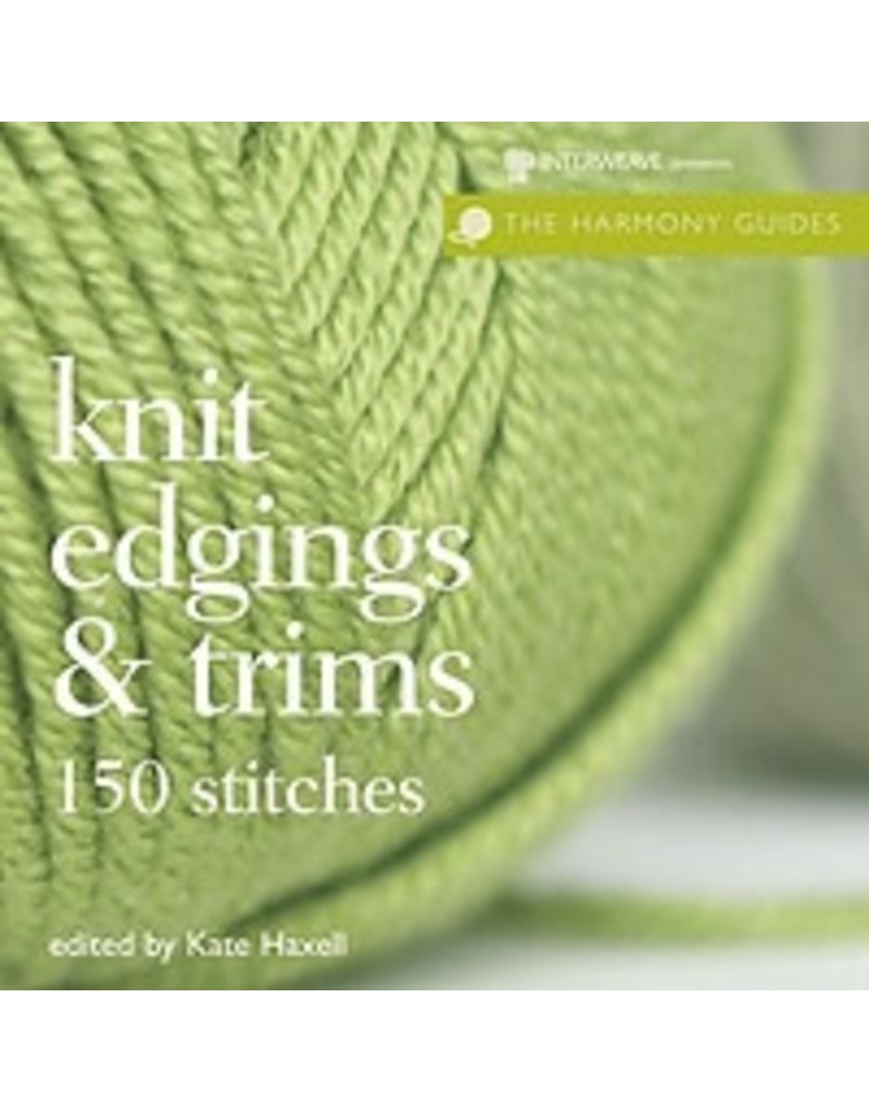 Book: Knit Edgings and Trims