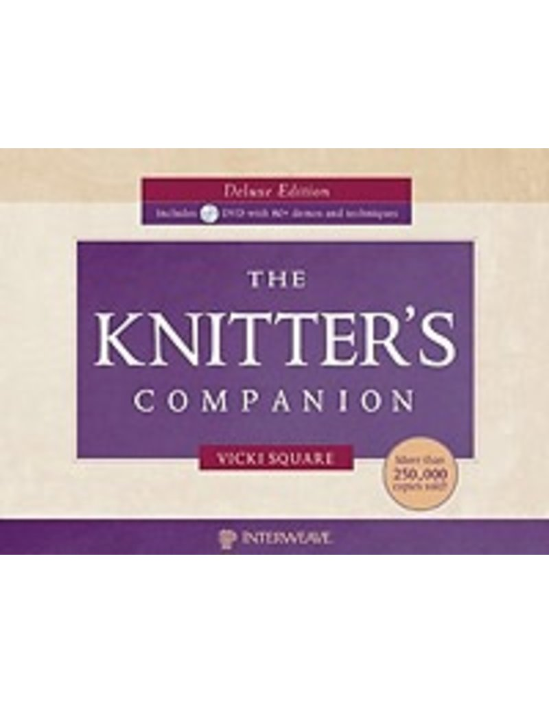 Book: The Knitter's Companion, Deluxe Edition with DVD