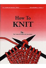 Book: How to Knit, The Needlecraft Resource Library