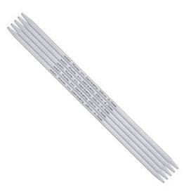 addi addi Aluminum Double Point Needles, 6-inch, US 0
