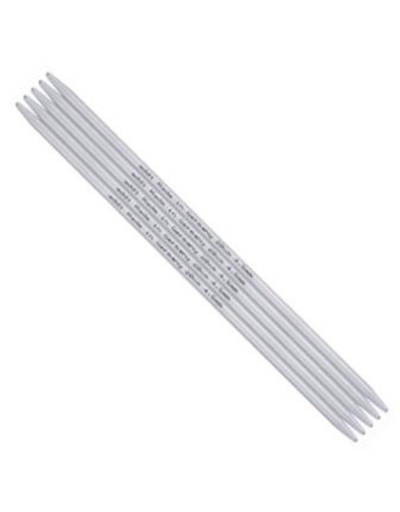 addi addi Aluminum Double Point Needles, 6-inch, US 3