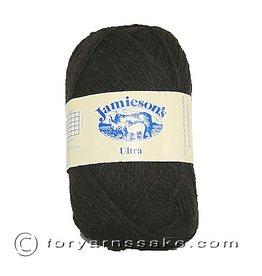 Jamiesons of Shetland Ultra Lace, Shetland Black, color 101
