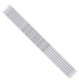 addi addi Aluminum Double Point Needles, 8-inch, US 10.  5 per set