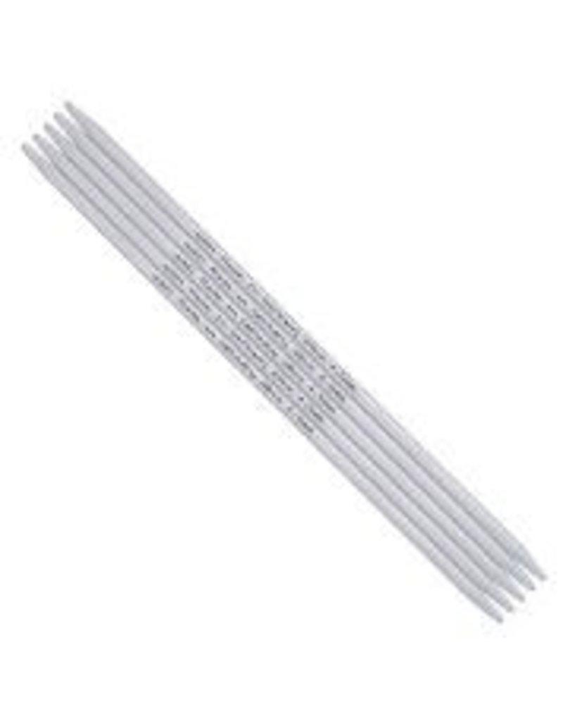 addi addi Aluminum Double Point Needles, 8-inch, US 10.  5 per set