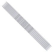 addi addi Aluminum Double Point Needles, 8-inch, US 8.  5 per set