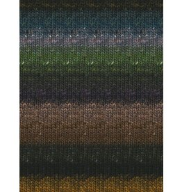 Noro Silk Garden Sock, Black, Olive, Gold color 360 *CLEARANCE*
