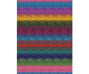 Noro Silk Garden Sock, Turquoise, Pink, Yellow Color 87   For Yarnu0027s Sake  LLC