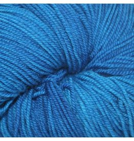 Dragonfly Fibers Djinni Sock, Karen's Blue *CLEARANCE*