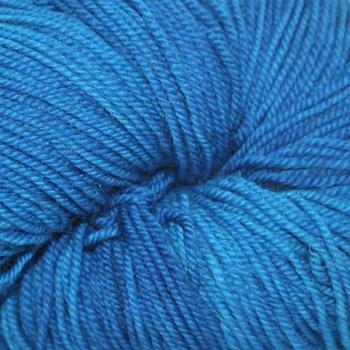 Dragonfly Fibers Djinni Sock, Karen's Blue *CLEARANCE*