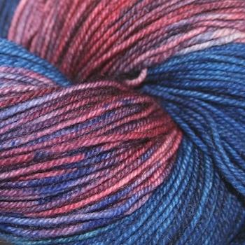 Dragonfly Fibers Djinni Sock, Winter Twilight *CLEARANCE*