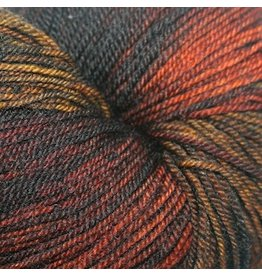 Dragonfly Fibers Djinni Sock, Spooky *CLEARANCE*