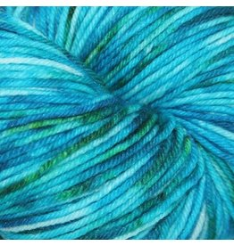 Knitted Wit Victory Sock, Rock Candy Teal