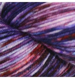 Knitted Wit Victory Sock, Rock Candy Purple