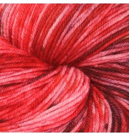 Knitted Wit Victory Sock, Rock Candy Red