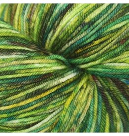 Knitted Wit Victory Sock, Rock Candy Green