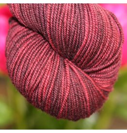 Knitted Wit Victory DK, Bing Cherry