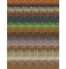 Noro Silk Garden, Greens, Coral, Ink Color 426 (Discontinued)