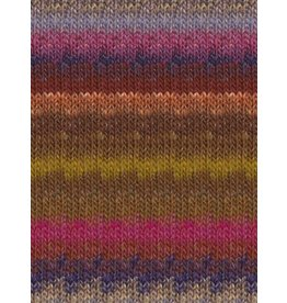Noro Silk Garden, Browns, Magenta, Purple Color 423