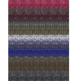Noro Silk Garden Sock, Grey, Black, Green, Purple color 397 *CLEARANCE*