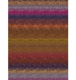 Noro Silk Garden Sock, Browns, Magenta, Purple Color 423 *CLEARANCE*