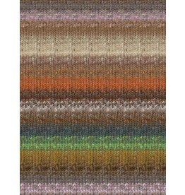 Noro Silk Garden Sock, Rust, Brown, Natural Color 417 (Discontinued)