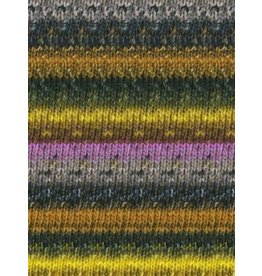 Noro Silk Garden Sock, Greens, Black, Purple color 398 *CLEARANCE*