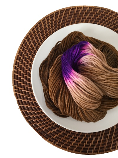 Delicious Yarns Sweets Fingering, PB and J