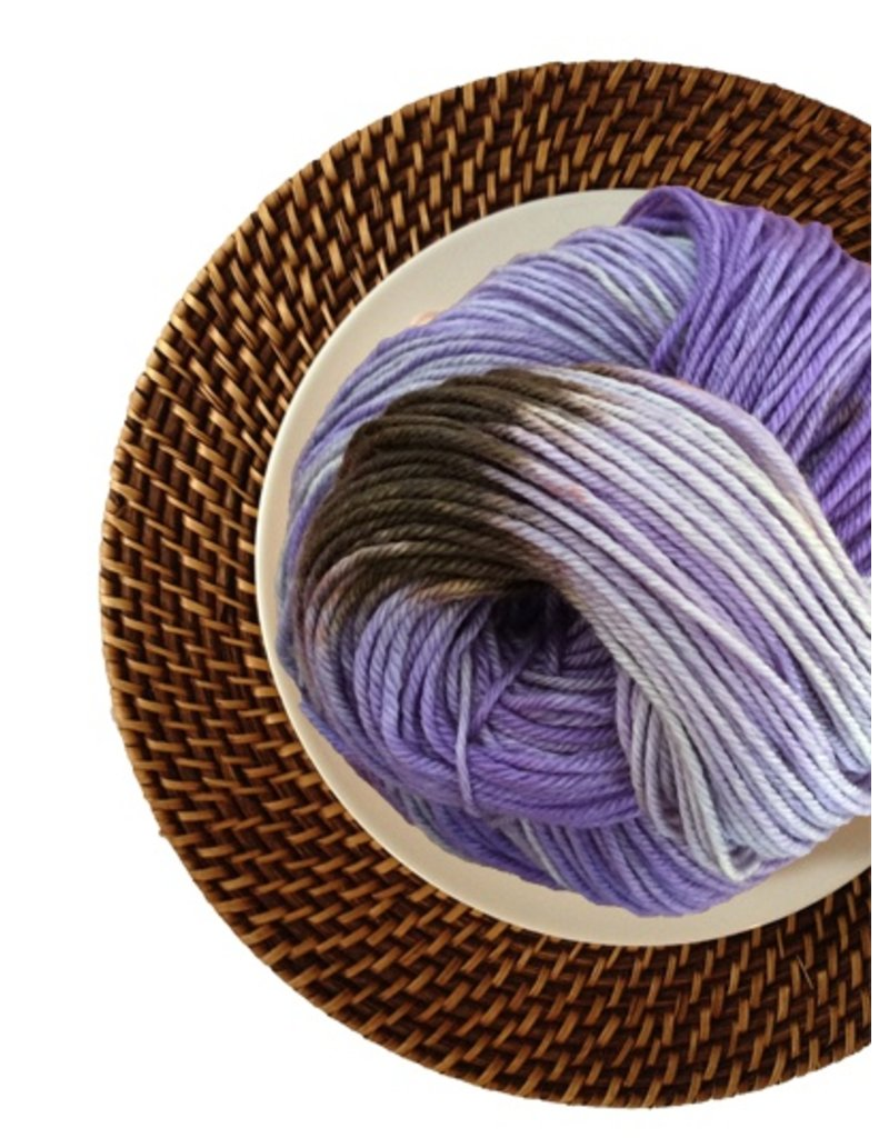 Delicious Yarns Sweets Fingering, Plum Pudding