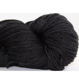 Abstract Fiber Temptation Sock, Little Black Dress