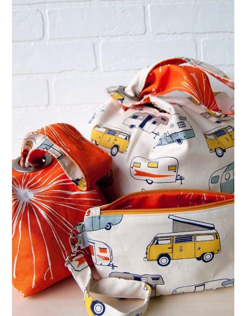 Binkwaffle Dumpling Bag - Large, Camper