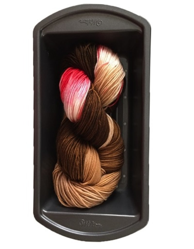Delicious Yarns Two Sweets Fingering, Chocolate Mix 4